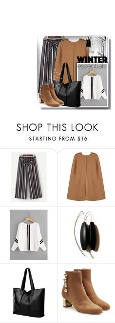"""""""Winter essentials"""" by gingerbrand ❤ liked on Polyvore featuring Malone Souliers and StreetStyle"""