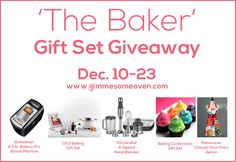 The Baker giveaway
