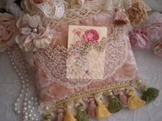 Bohemian Romance Petite Keepsake Memory Pillow OOAK By SincerelyRaven On Etsy
