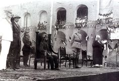 1932: The Kingdom of Iraq is granted independence October 3 under King Faisal I. However, the British retains military bases in the country. Iraq had been under the Ottoman Empire until its demise in World War I. Great Britain then took over the nation after the war. The new nation becomes a constitutional monarchy in 1932 under Faisal.