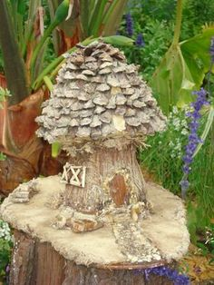 Un jardin féérique -- #fairy #house - Build your own fairy house (with help from Disney)
