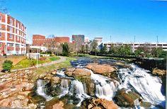 Greenville, South Carolina in South Carolina