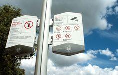 Design by Toko Centenary Square Parramatta Parramatta Council Signage / Wayfinding design