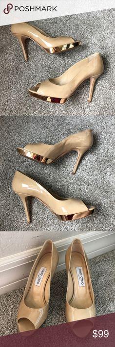 2659e67c2b8 26 Best Gold peep toe pumps images in 2015   Shoes, Heels, Pumps