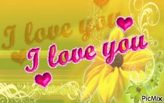 Mensagem I love You Gifs, Love You, Neon Signs, Anniversary Message, Happy Brithday, I Love You, Je T'aime, Te Amo, Gifts