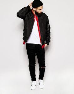 Bomber Jacket, Men's Spring Summer Fashion.