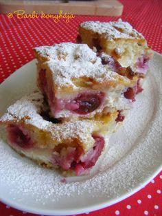 Lusta asszony szórós sütije Ital Food, Latte, French Toast, Deserts, Barbie, Breakfast, Recipes, Drinks, Kitchens