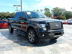 2012 FORD F150 FX4 4WD  79327 miles, Black exterior color with a Black interior, 3.5L V6 DIR DOHC 24V Engine, Automatic Transmission