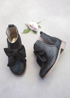 825c0ceeda Shop the best selection of Joyfolie clothes and shoes for girls at  SugarBabies! Add the Collette Booties in Black to your daughters wardrobe!