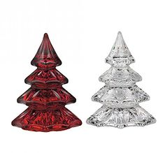 Waterford Two Mini Christmas Trees >>> For more information, visit image link.