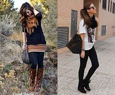 20 Style Tips On How To Wear Leggings.