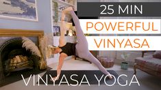 """I call this a 25 minute """"powerful vinyasa"""" and not a """"power"""" class because the pace is slightly slower but still packs a punch. This flow is based off one of my hour flows where we build towards Bird of Paradise posture. Its a great flow to prep the hips and shoulders for such a complex move, especially if you are short on time or what to get straight down to business. Online Yoga Classes, Yoga Flow, Punch, Paradise, Bird, Business, Fitness, Birds, Store"""