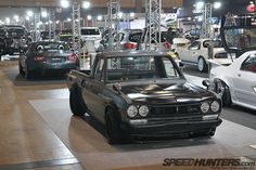 Datsun 1200 with pcg10 front end conversion