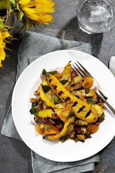 Frank Stitt's Grilled Zucchini Summer Salad   Slow Food Fast - WSJ.com