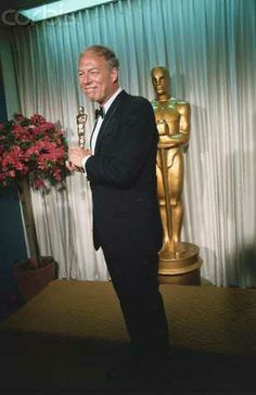"""1968 Oscars: George Kennedy, Best Supporting Actor 1967 for """"Cool Hand Luke"""" Hollywood Icons, Hollywood Stars, Classic Hollywood, Old Hollywood, Academy Award Winners, Oscar Winners, Academy Awards, Santa Monica, George Kennedy"""
