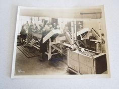 WWII Vintage Factory Workers Women War Assembly Line 318 Passmore Old Weson