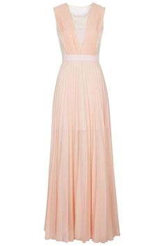 only 10 or 12 in topshop - Photo 1 of **Pleated Maxi Dress by Jovonna