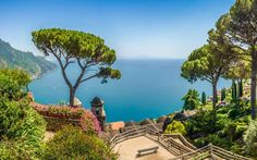Ischia Italy Wall Art - Photograph - Scenic Picture-postcard View Of Famous Amalfi Coast With Gulf Of by JR Photography Portugal, Mariah Carey, Amalfi Coast Italy, Ravello Italy, Capri Italy, Almafi Coast, Thai Islands, Sailing Holidays, Sustainable Tourism