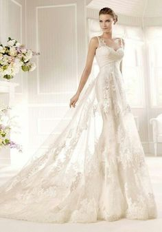 It is my dream to marry in this tiffany dress