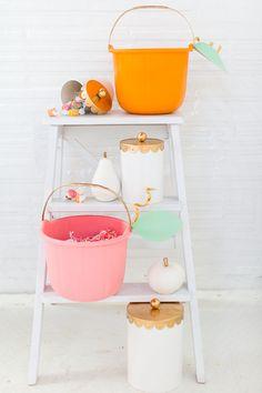 DIY Pumpkin Candy Bucket