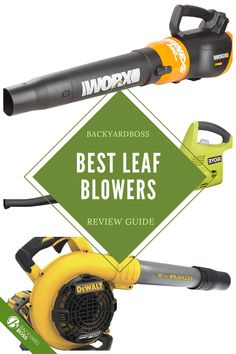 Did you know that some gas powered leaf blowers emit more pollution than many car models? There are now battery-powered models, but are they powerful enough for your needs? Do they last long enough? Check out our guide. Fall Landscape, Yard Tools, Gardening Tools, Green Garden, Leaf Blower, Product Review, Did You Know, Outdoor Power Equipment, Leaves