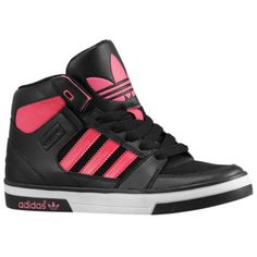 Adidas High Tops for Girls | Adidas Shoes For Girls I would rather have them in blue or green!