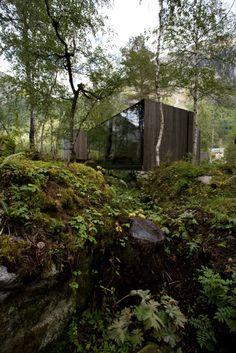 The Juvet Landscape Hotel at Valldal, near Åndalsnes in north-western Norway by Jensen & Skodvin Arkitektkontor