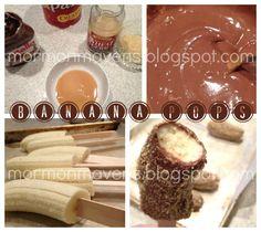 Mormon Mavens in the Kitchen: Banana Pops