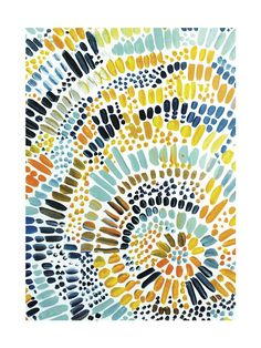 For above the mantel . V. affordable and has all the color we want to incorporate...  Sun Drop by Holly Royval for Minted