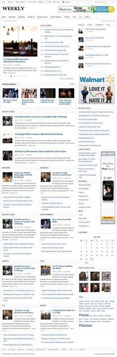 Stylish news portal type WordPress theme from Theme Junkie News Web Design, Themes Themes, Premium Wordpress Themes, Portal, Type, Stylish