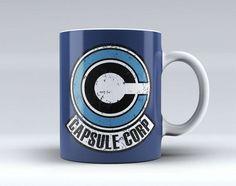 Capsule Corp Logo Art Coffee Mug Tea Mug Coffee Cup Funny Mug