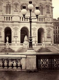Charles Marville: The Street Lamps of Paris