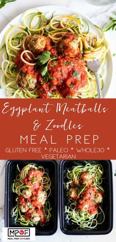 The perfect meatless Monday dinner and compliant These take a while to bake but the actual handson preparation time is minimal making these perfect for meal prep or a comforting weekend dinner. Fitness Meal Prep, Paleo Meal Prep, Lunch Meal Prep, Easy Meal Prep, Easy Meals, Keto Meal, Clean Eating Recipes, Lunch Recipes, Paleo Recipes