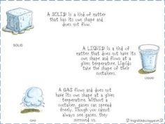 First Grade Fanatics: science/matter