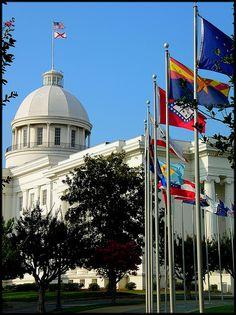 #Alabama State Capitol  #USA #traveling