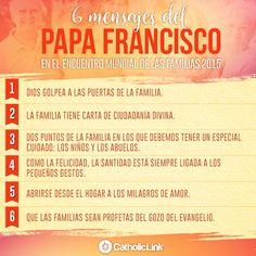 Biblioteca de Catholic-Link - Infografía: 6 mensajes del Papa Francisco en el...