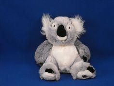 New product 'Ganz Webkinz HM113 Gray Black White Koala Bear NO CODE' added to Dirty Butter Plush Animal Shoppe! - $4.00 - Ganz Webkinz No. HM113 Plush 9 inch Gray Koala Bear - Shaggy White Fur Ears - White Eye Patches, Mouth - Large Black Vel…