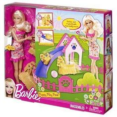 Barbie Puppy Play Park Doll And Playset NIB Mattel  #Mattel #DollswithClothingAccessories