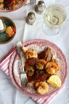 Nessa's Family Kitchen: A Treat for your Valentine - Spicy Prawns & Chorizo on Toast