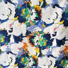 Ex Designer Print On Nylon Fabric Spring Summer 2016, Fashion Forward, Print Design, Fabrics, Painting, Art, In Trend, Tejidos, Art Background