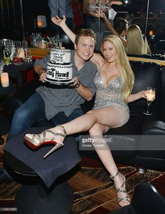 Spencer Pratt and Heidi Montag celebrate Spencer Pratt's 30th birthday at Crazy House III on August 31, 2013 in Las Vegas, Nevada.