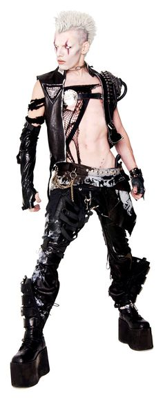 How long do you think it takes to put this one? #Cyber #Goth