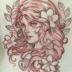 Drawing by John Kulikoff Owl Tattoo Drawings, Tattoo Sketches, Art Sketches, Head Tattoos, Skull Tattoos, Body Art Tattoos, Tribal Heart Tattoos, Eagle Tattoos, Design Your Own Tattoo