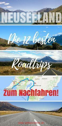 Die 12 schönsten Roadtrips durch Neuseeland, mit Karten zum Nachfahren! #Neuseeland #Roadtrip #Campervan