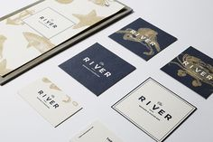 THE RIVER by Laura Pol, via Behance