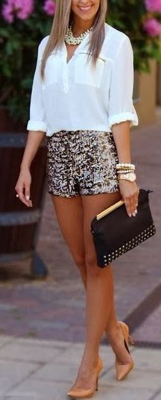 Nude colour shoes for optimum leg lengthening and amazing fake tan. You cant go wrong. find more women fashion ideas on www.misspool.com
