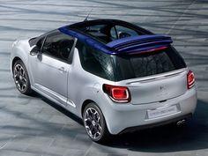 Primeiras imagens do Citroën DS3 conversível são reveladas -Versão cabriolet do hatch francês fará estreia no Salão de Paris.  Fabricante ainda não divulgou possíveis novidades mecânicas