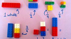 Educación: La forma más divertida y amena de enseñar Matemáticas a los niños pequeños. Noticias de Alma, Corazón, Vida. Las piezas de Lego se convierten en las mejores aliadas para que las fracciones, las multiplicaciones o incluso los cuadrados de los números no sean un obstáculo en la educación de los menores