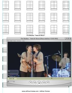 """On The Workbench: """"Twist & Shout"""" The Beatles version originally written by Phil Medley and Bertrand Russell Burns. Cool guitar licks and not crazy hard to learn.  Free Skype Review Available: www.jeffrey-thomas.com"""