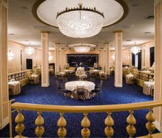 Blue room at the Roosevelt-New Orleans,Louisiana